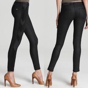 RAG & BONE raja shoreditch black skinny jeans